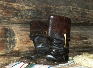 removing scratches from leather boots