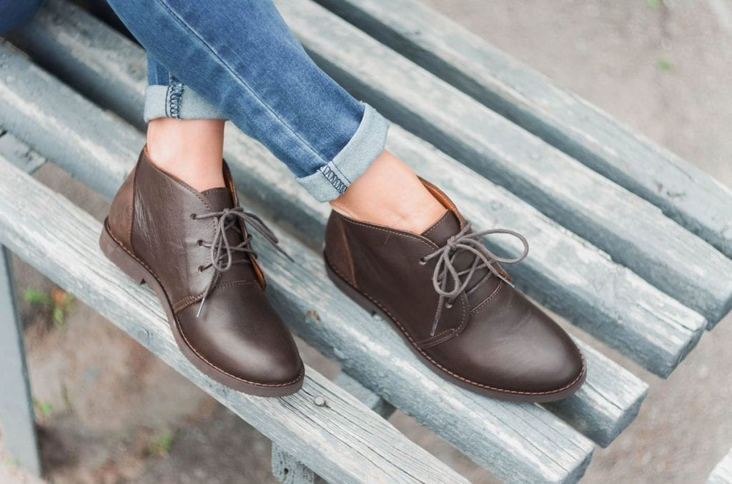 cleaning clarks desert leather boots