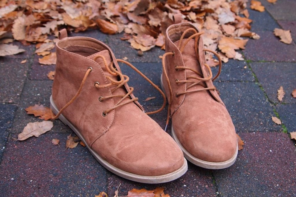 cleaning clarks desert suede boots