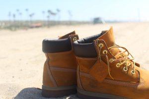 clean timberland boots